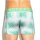 PINK HERO zelené boxerky Gradient Wave