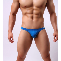 BRAVE PERSON modrá pánská tanga Cube