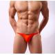 BRAVE PERSON oranžové pánské bokové slipy Slim