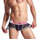 SEOBEAN tmavě modré síťované boxerky Breathable Boxer