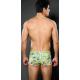 XUBA luxusní pánské žluté boxerky Smile 205-21