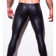 N2N BODYWEAR černé upnuté lesklé kalhoty Shinie