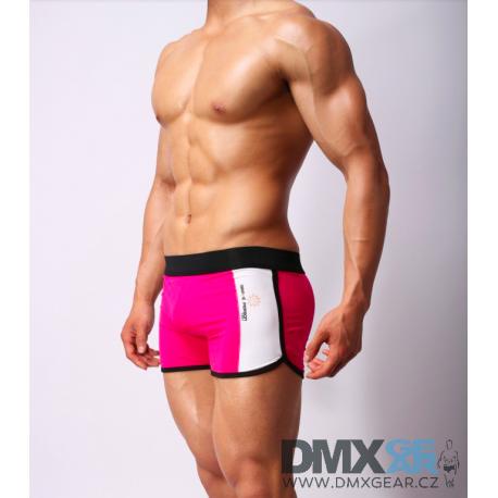BRAVE PERSON růžové boxerky Sport