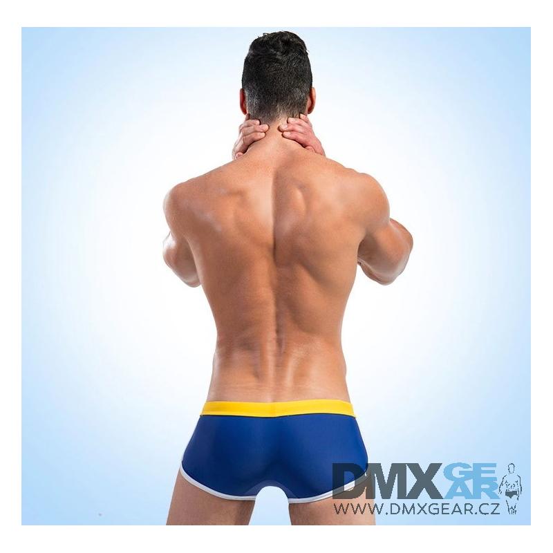 8eebab1765a DESMIIT modré plavky boxerkové Swim Team Blue - DMXgear