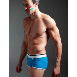 XUBA pánské modré boxerky Blue Diamont