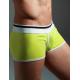 XUBA pánské žluté boxerky Yellow Diamont