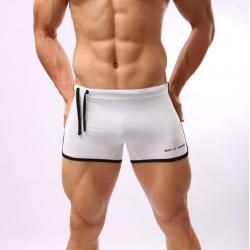 BRAVE PERSON bílé plavky boxerkové Pure
