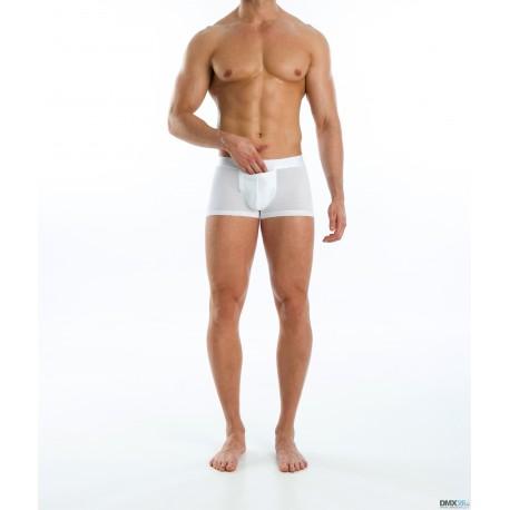 MODUS VIVENDI boxerky pánské bílé Hole Pocket Boxer 02621