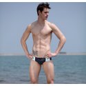 ANDREW CHRISTIAN plavky slipové černé Vibe Bikini