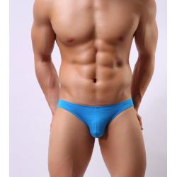 BRAVE PERSON pánské modré slipy bokové Blue