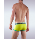 GARÇON MODEL žluté pánské boxerky South Beach Yellow/Green Trunk