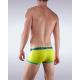 GARÇON MODEL žluté pánské boxerky South Beach Yellow/Green Trunk