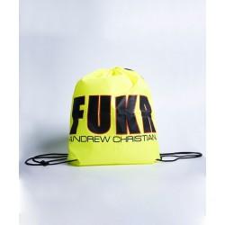 ANDREW CHRISTIAN pánský batoh žlutý přes rameno FUKR