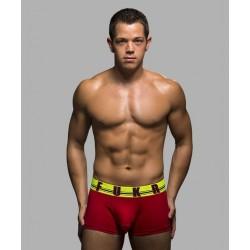 ANDREW CHRISTIAN pánské červené boxerky FUKR Boxer