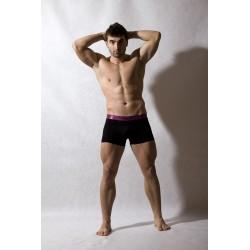 MED Pánské boxerky Logan Purple